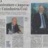 """Il neopresidente di Unindustria Lazio, Angelo Camilli, scrive all'Ucid: """"Lavoriamo insieme per rilanciare l'economia della regione"""" Pedrizzi: """"Sintonia su priorità infrastrutturali ed economiche"""""""