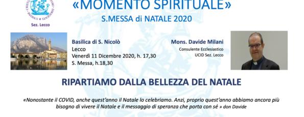 Natale 2020 Spirituale 11 12 2020