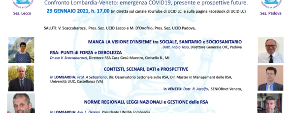RSA Lomb. Veneto UCID 29 01 2021 foto