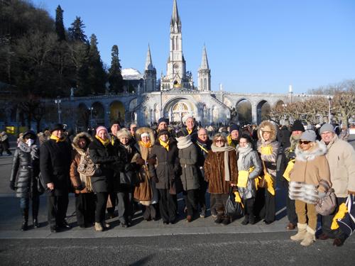 Sezione di Roma in pellegrinaggio a Lourdes