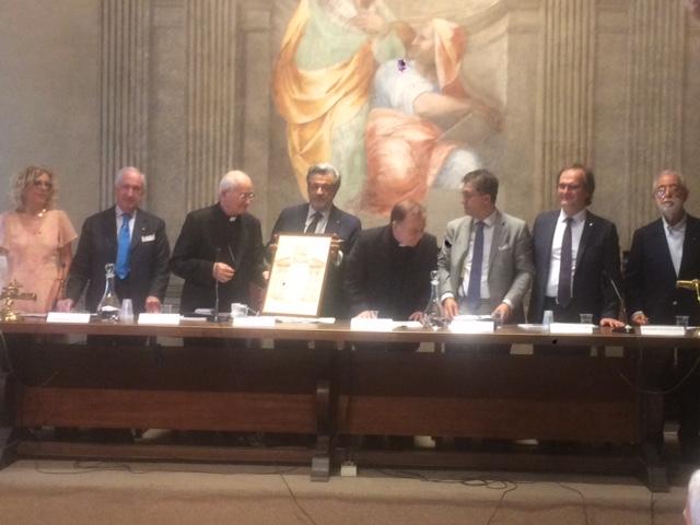 L'Assemblea dell'UCID Nazionale saluta il Card.Salvatore De Giorgi