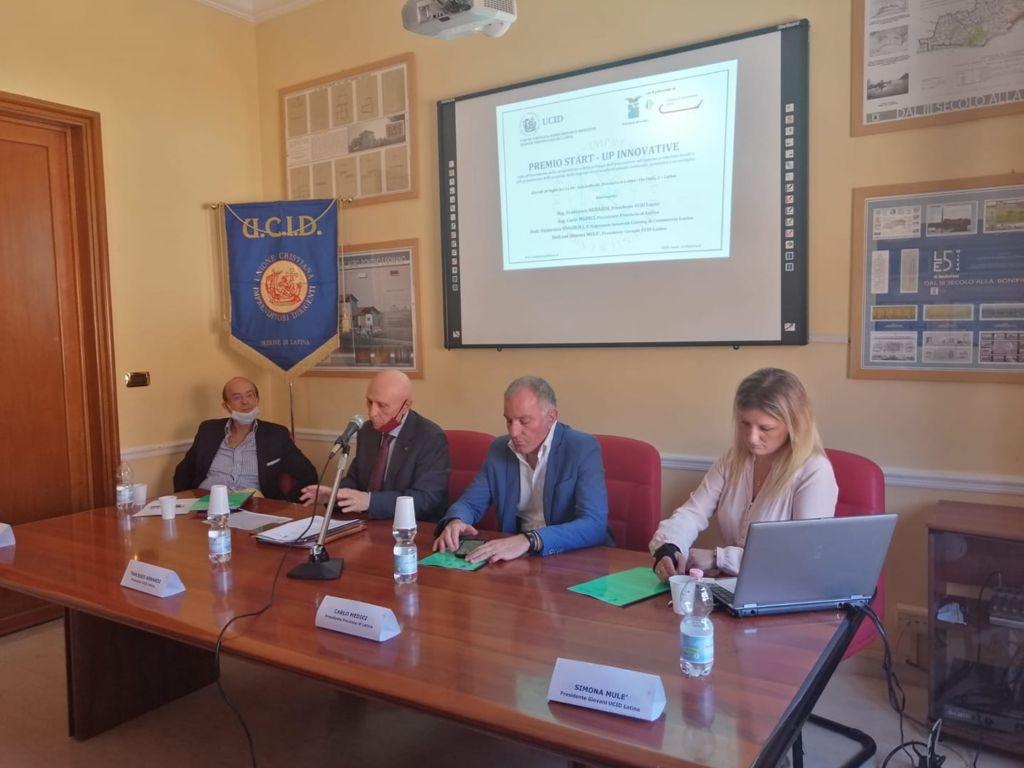 UCID Sezione di Latina – Avviso Pubblico Premiazione Start up Innovative