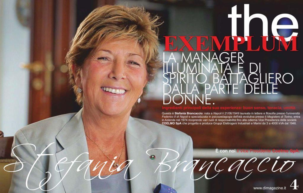 Intervista su Di Donna Impresa Magazine a Stefania Brancaccio.