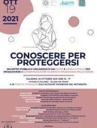 "UCID SalernoWorkshop ""Conoscere per proteggersi""19 ottobre 2021 ore 15.00"